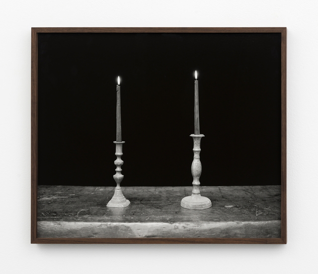 , 'Two Candles, Black,' 2018, Patron
