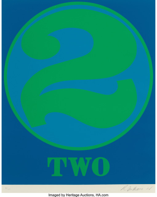 Robert Indiana, 'Two (from Numbers)', 1968, Heritage Auctions