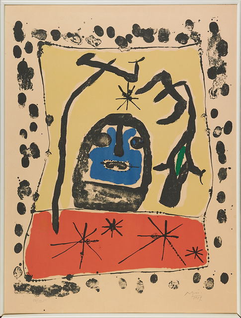 Joan Miró, 'Exhibition at the Galerie Matarasso, Nice', 1957, Rago/Wright