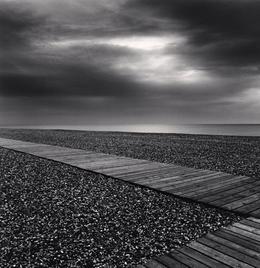 Michael Kenna, 'Beach Walk, Cayeaux sur Mer, Picardy, France', 2009, Weston Gallery