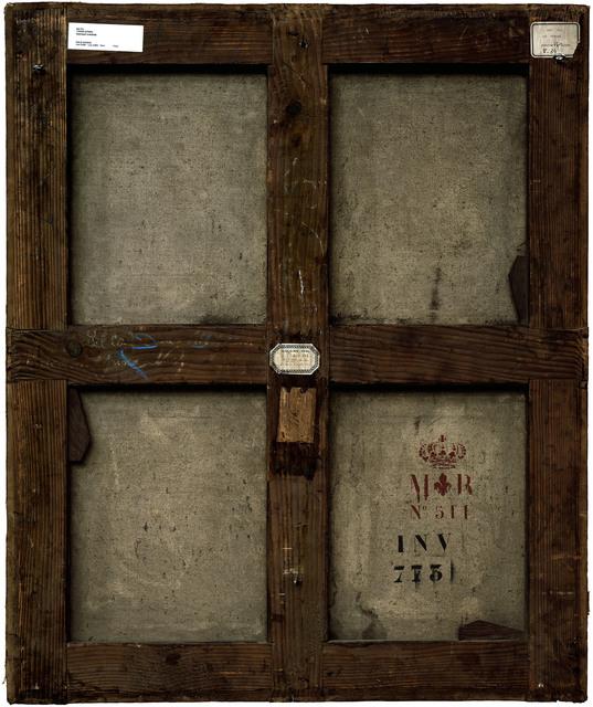, 'Verso n°37, Portrait d'homme, par Titien, collection du musée du Louvre,' 2009, Modernism Inc.