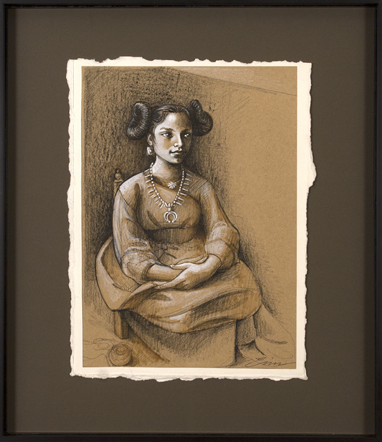 , 'Preparatory Not-So-Repentant American Magdalena,' 2018, Blue Rain Gallery