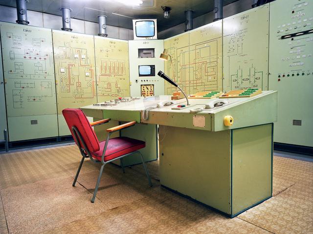 , 'East Germany Bunker Control Room.,' 2005, Anastasia Photo