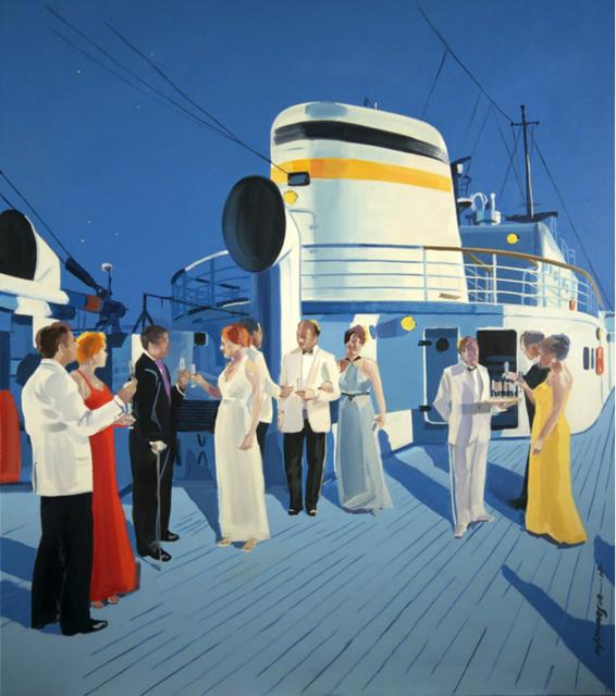 , 'The ship,' 2017, Galeria Katarzyna Napiorkowska