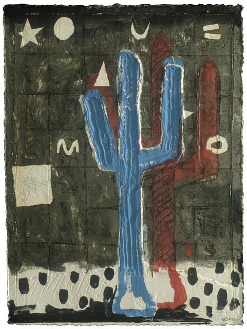 Andres Nagel, 'Feet', 1992, Mixografia