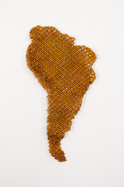 , 'Map of South America,' 2018, Goya Contemporary/Goya-Girl Press