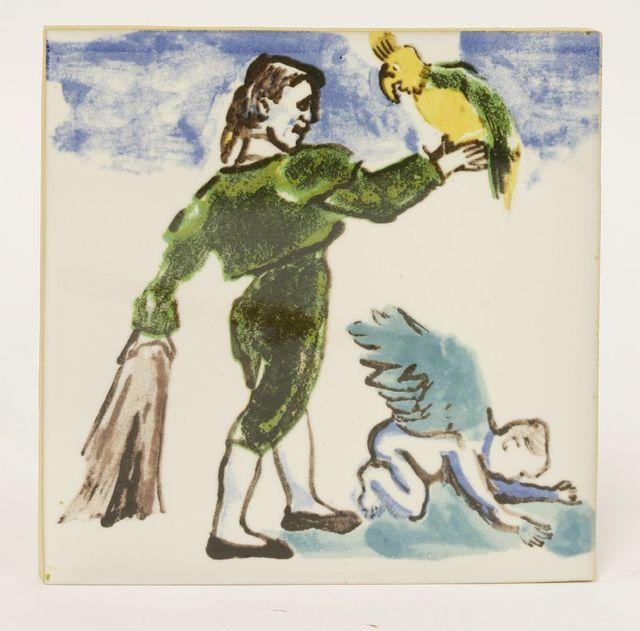 Paula Rego, 'Matador Com Papagaio E Anjo', 1989, Sworders