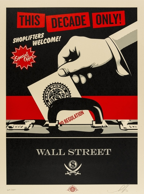 Shepard Fairey, 'Shoplifters Welcome', 2012, Forum Auctions