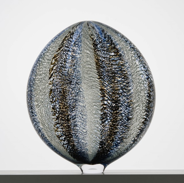 , 'Blue Glasswaver Vessel,' 2018, Sandra Ainsley Gallery