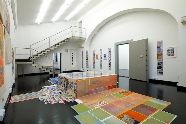 Franklin Evans Installation view. Photo: Antonio Maniscalco, Ricardo Gay-Luger.