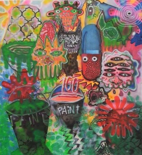 , 'Paint 101,' 2016-2017, Ro2 Art