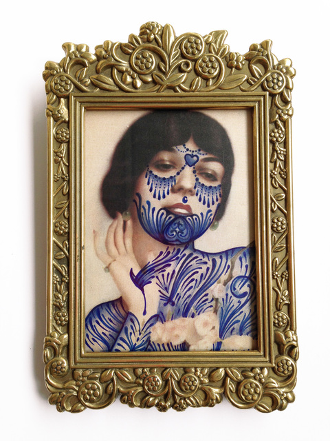 , ''Blue Blood',' 2015, StolenSpace Gallery
