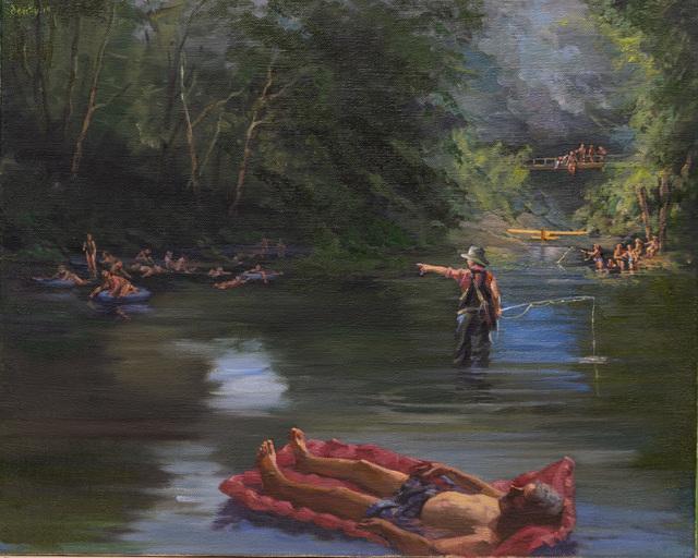 , 'Tailwater,' 2019, Barney Savage Gallery