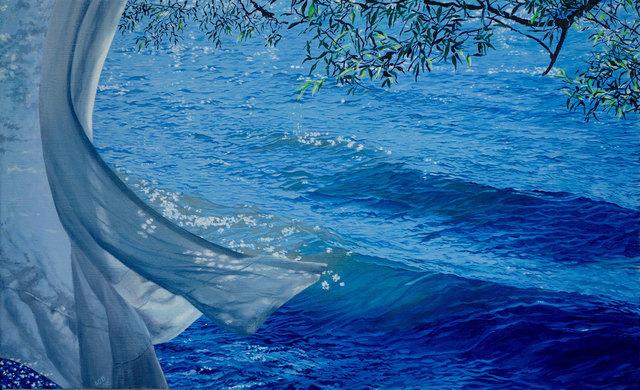 , 'Gentle Wave,' , Eckert Fine Art