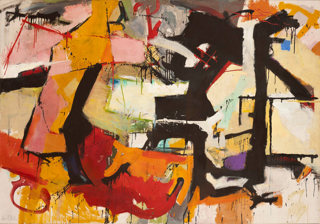 , 'Abstract Force: Homage to Franz Kline,' 1951-1952, Hollis Taggart