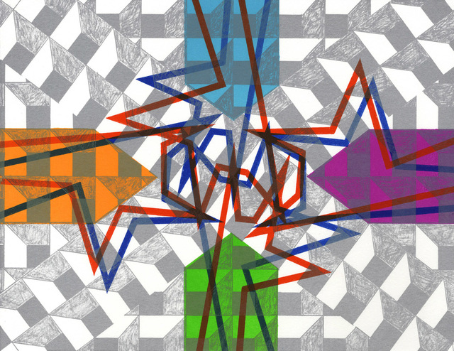 , 'Mirror x 6 (2),' 2008, Flowers