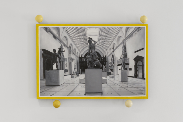 , 'Composition at the V&A,' 2016, Peana Projects