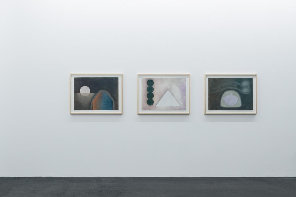 Kyung-Lim Lee »Echo of Geometry« Photo: Wolfgang Stahl