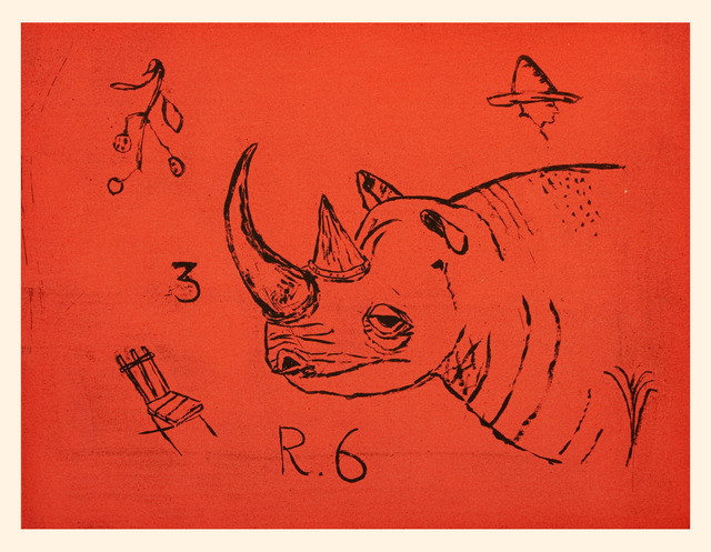 , 'Rhinoceros,' 2012, Paulson Fontaine Press
