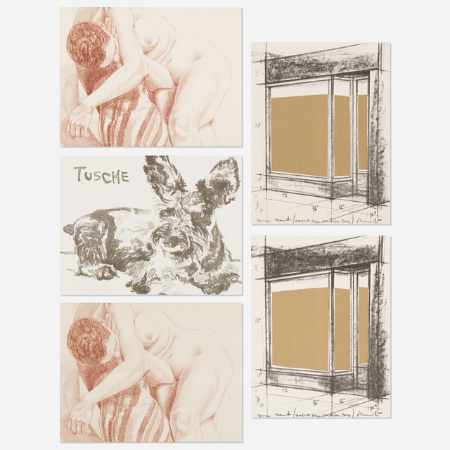 'five works for Landfall Press', 1978, Wright