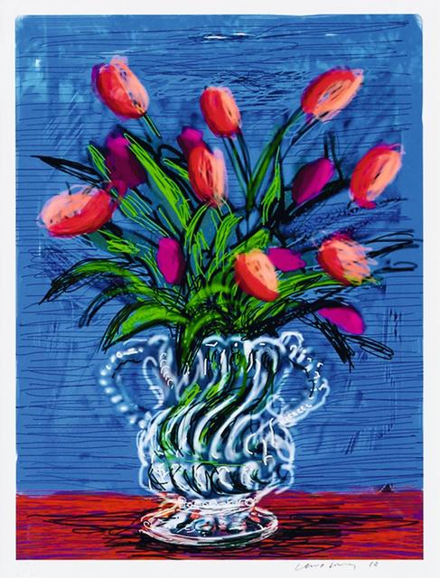 David Hockney, 'ipad Drawing Untitled, 346', 2010, Kenneth A. Friedman & Co.