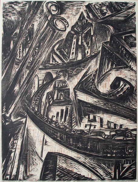 , 'The City,' 1957, Childs Gallery