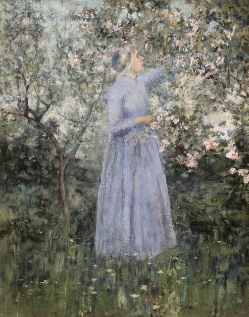 , 'Woman in a Garden,' 1890, Godel & Co.
