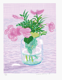 David Hockney, 'Untitled no. 329, from A Bigger Book: Art Edition A,' 2010/2016, Phillips: Evening and Day Editions