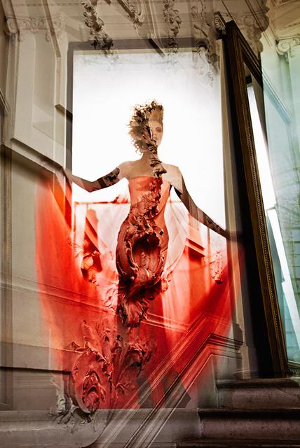 Nicolas Ruel, 'Maison Gaultier 9 (Paris, France)', 2012, Photography, Photographie imprimee sur acier inoxydable / Photograph printed on stainless steel, Galerie de Bellefeuille