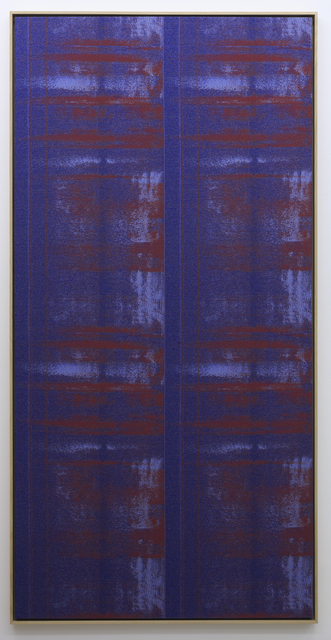 , 'Negative Entropy (Joy Alaoui, Blue, hex),' 2015, Gallery Baton