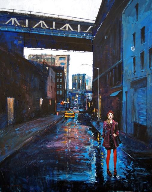 , 'Blue NYC,' 2018, Isabella Garrucho Fine Art