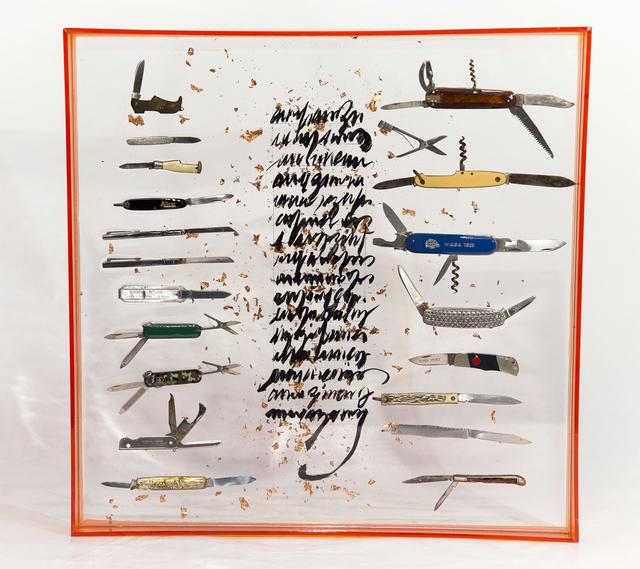 , 'Canivetes do meu pai,' 2018, Choque Cultural