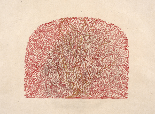 , 'Branches in red,' 2017, Janet Rady Fine Art
