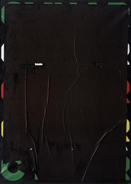 , 'Blank crepato,' 1980, CARDI GALLERY