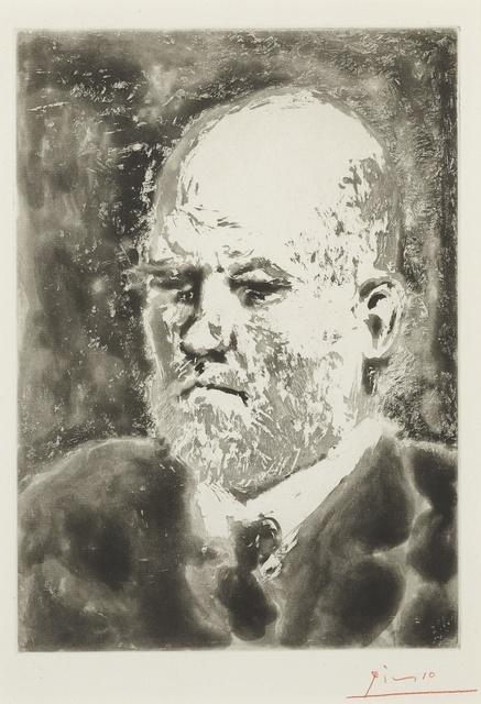 Pablo Picasso, 'Portrait de Vollard I (B. 232; Ba. 617)', 1937, Print, Aquatint, Sotheby's