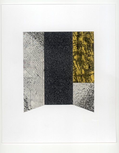 , 'Untitled: Yellow and Black,' ca. 2014, Adah Rose Gallery