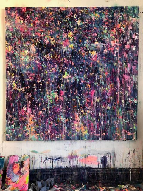 Mr. Jago, 'Quarter Past Midnight', 2019, Painting, Oil on canvas., Unit London