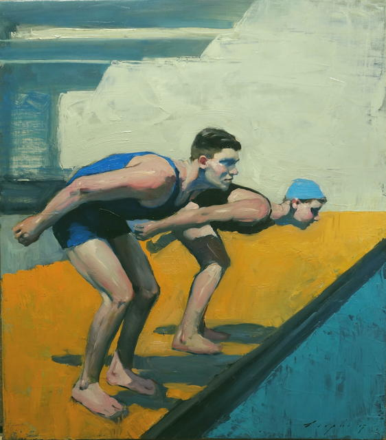 , 'On Your Mark ,' 2017, Nikola Rukaj Gallery