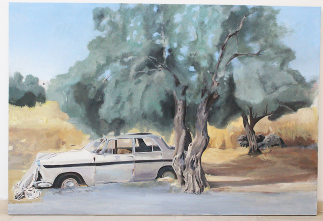 , 'Olive Tree by the Road,' 2015, Al Ma'mal Foundation for Contemporary Art
