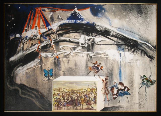 Salvador Dalí, 'New York Central Park Winter', 1971, Print, Lithograph, DTR Modern Galleries