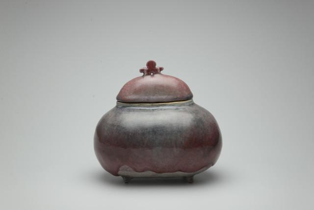 Shin Fujihira, 'Cinnabar Incense Burner', 1990, Ippodo Gallery
