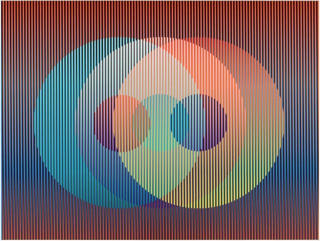 , 'Color Aditivo Panam Círculos 7,' 2010, Marion Gallery