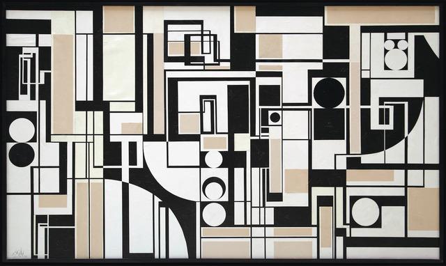 , 'Triptyque Noir et Blanc,' 2011, BOCCARA ART