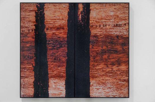 Michal Rovner, 'View', 2014, Video/Film/Animation, LCD screens, paper and video, Shoshana Wayne Gallery