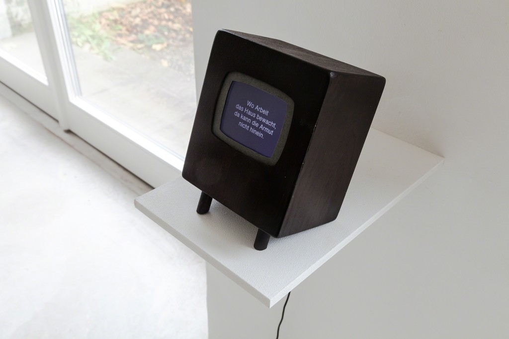 "exhibition view: ""There is no place like home"", 2012 