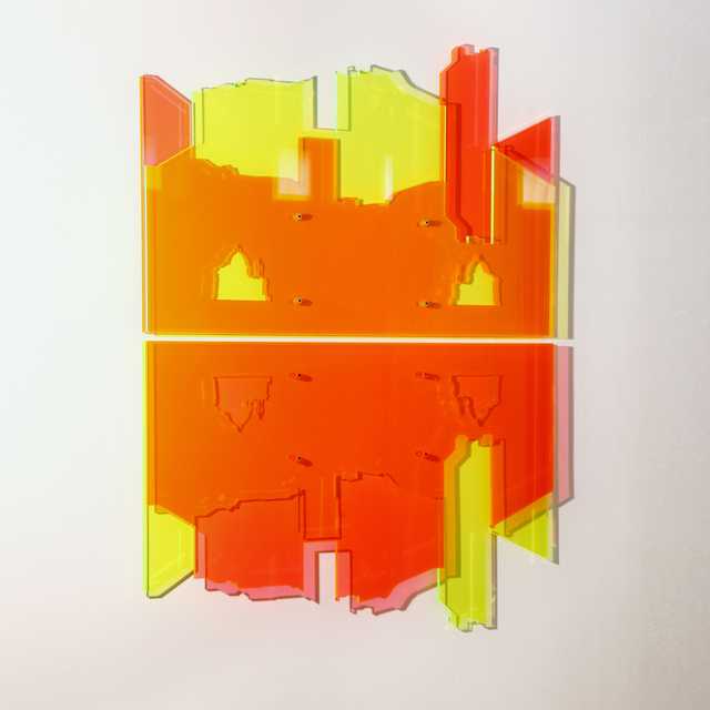 Francesco Candeloro, 'Arrivi (Torino)', 2015, Mixed Media, Laser etching on plexiglass, A arte Invernizzi