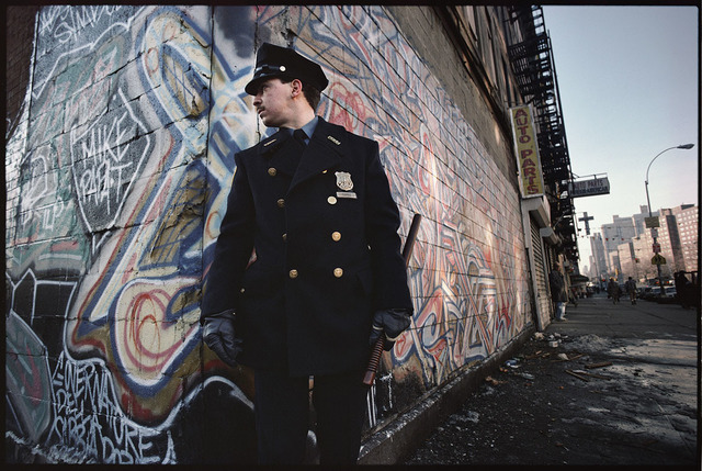 , 'Policeman on duty, Spanish Harlem, NY ,' 1987, Galerie Bene Taschen