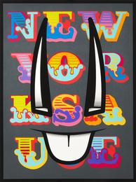 D*Face & Ben Eine, 'Special Sauce,' 2013, Julien's Street Art Now (February 2017)