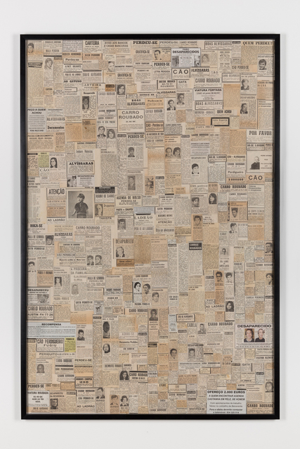 , 'Perdidos e achados (perdidos y encontrados),' 2016, Juan Silió