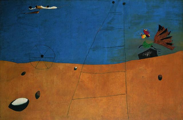 Joan Miró, 'Paysage (Paysage au coq) (Landscape, Landscape with Rooster)', 1927, Fondation Beyeler